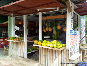 Las Terrenas Fruits Stands